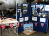 Our stall at the Falklands Memorial event.